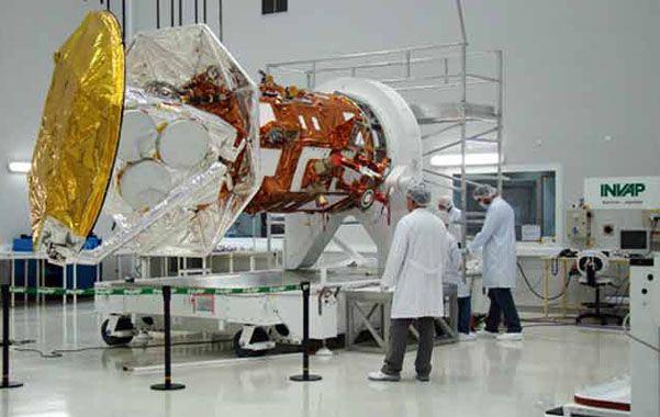 El Arsat-1 será lanzado al espacio hoy a las 18 desde la base de Kourou