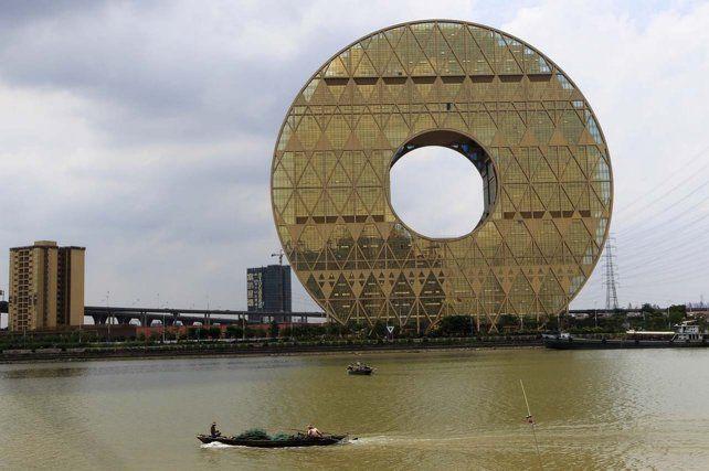 El edificio circular más alto del mundo está en China