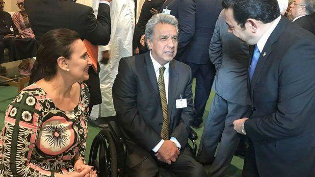 Michetti, en la asamblea de la ONU