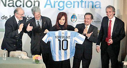 Cristina juega al misterio con el nombre de su candidato a vice