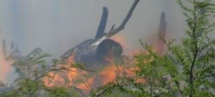 Tierra del Fuego: mejora la situación por incendios pero hay focos fuera de control