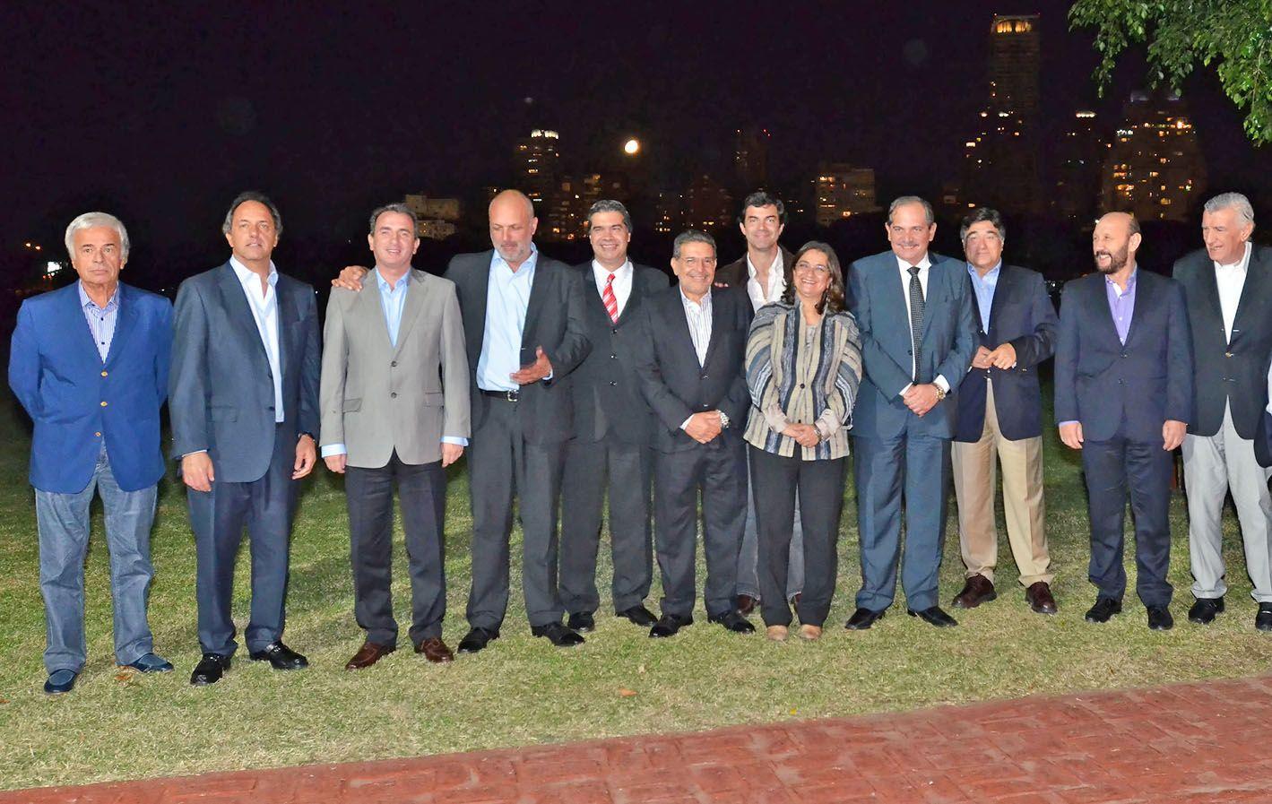Primera aproximación. Gobernadores peronistas se reunieron en marzo.