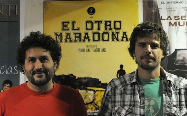 Los directores. El rosarino Gabriel Amiel (izq.) y Ezequiel Luka tocan temas sensibles como el fracaso y la frustración. (Foto: V. Benedetto)