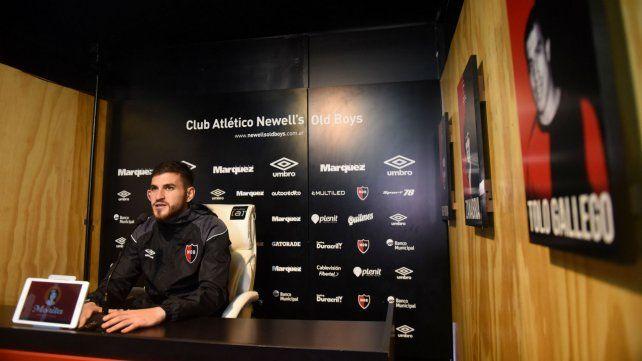 Fernández dijo que Newells hará en Boca todo lo bueno que hizo hasta el momento.