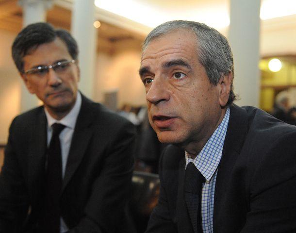 Embajadores de Francia y la UE