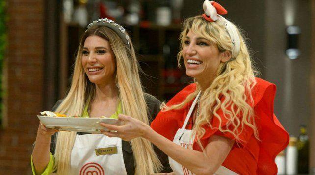 Stefi Xipolitakis estuvo como invitada de su hermana Vicky en MasterChef Celebrity.
