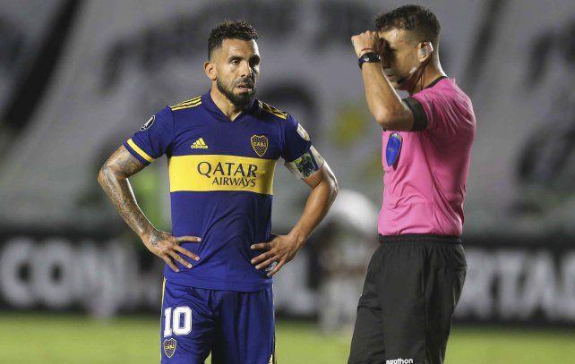 Boca perdió el pasado miércoles con Santos en la Libertadores.