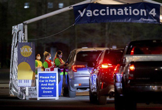 Estados Unidos es uno de los países que más población vacunó.
