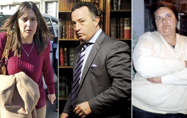 Los protagonistas. La jueza Minetti dispuso la liberación de los imputados