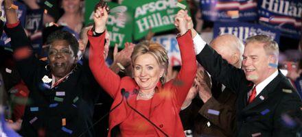 Hillary remontó ante Obama y McCain se consagró candidato republicano