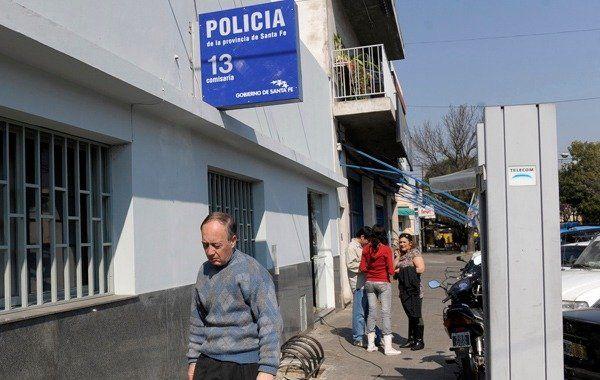 Los detenidos tras la balacera en barrio Triángulo fueron trasladados a la comisaría 13ª.