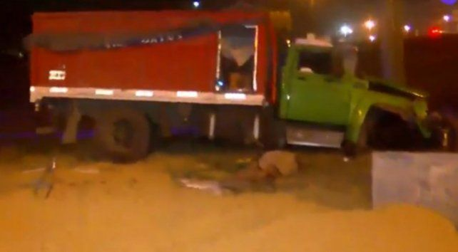 De acuerdo al relato del camionero