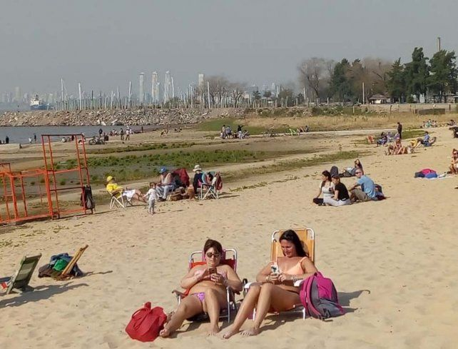 La ciudad vivió un  fin de semana primaveral con máxima de 29º