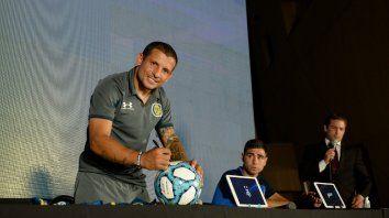 Emiliano Vecchio, una de las cartas de Central para enfrentar este sábado a Vélez en San juan.