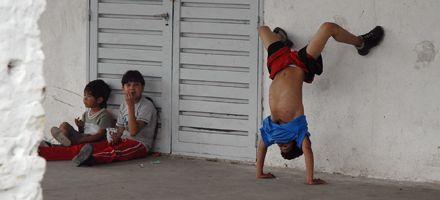 En Rosario, la asignación universal  beneficiará a unos 100 mil chicos