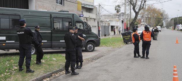 Los operativos de Gendarmería comenzaron hoy desde las 6.