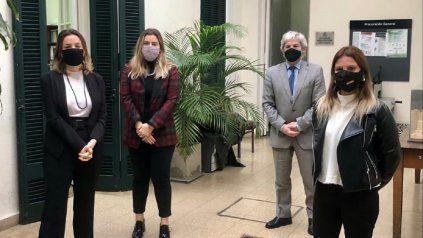 Hace dos semanas, las diputadas Mahmud, Cattalini y Ponti se reunieron con el Procurador de la Corte Suprema por el caso Mingarini y la falta de perspectiva de género de la Justicia.