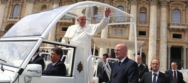 El cura sanlorencino se alegró por la llamada del Papa aunque duda de la interpretación que se dieron a sus palabras.