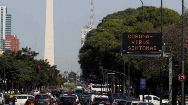 Reportan 187 casos nuevos de Covid-19 en barrios porteños