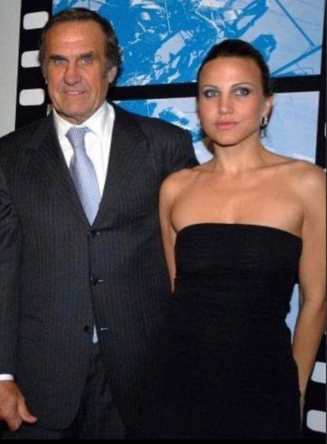 Carlos Reutemann junto a Cora