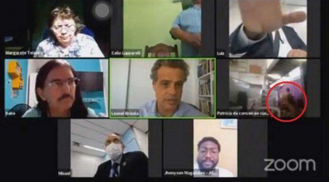 El polémico episodio ocurrió en Río de Janeiro.