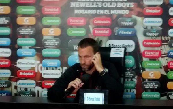 Bernardi dijo que el equipo llevaba un tiempo largo sin conocer la sensación de perder.