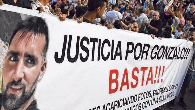 concentrados. La marcha de 7 mil vecinos en Rafaela no repitió los incidentes que tuvo la del jueves último.