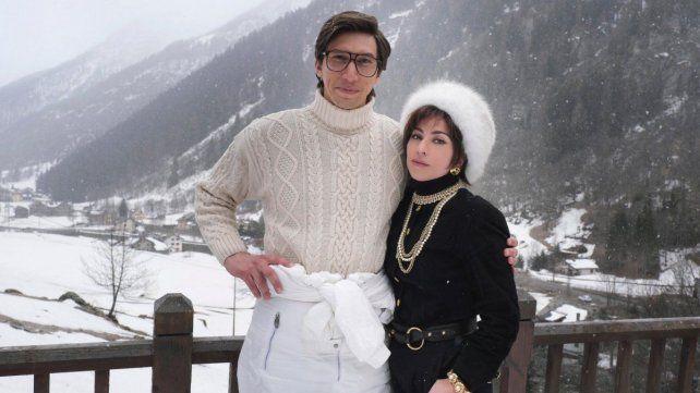 Adam Driver y Lady Gaga son el señor y la señora Gucci.
