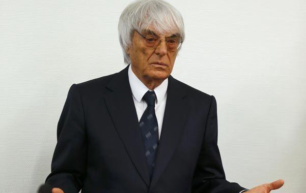 Bernie. Se lo acusaba de haber sobornado a un banquero teutón en 2006-7.