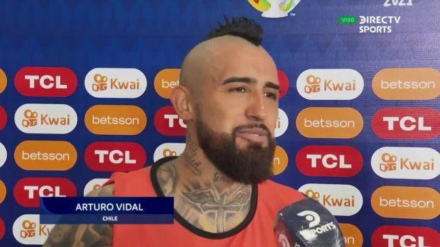 Habló Vidal. En Chile uno ya está acostumbrado