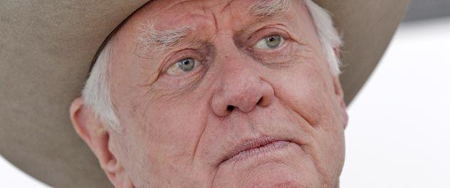 """Hagman sufrió un trasplante hepático en 1995. Este año volvió a interpretar a John Ross (JR) para una remake de """"Dallas""""."""