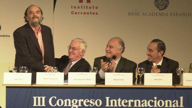 20/11/04 III Congreso  de la Lengua Española en el Teatro El Círculo. Foto: Enrique Rodriguez Moreno