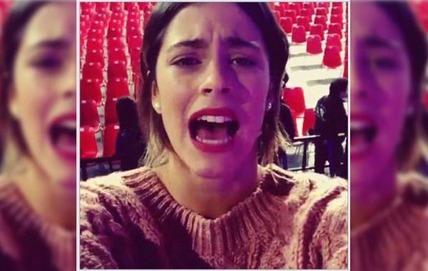 Martina le dedicó un video a sus fans.
