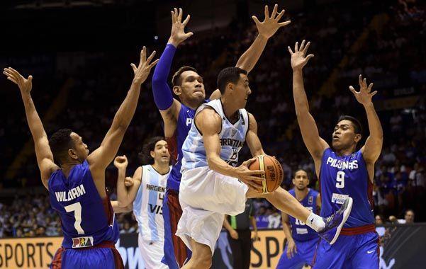 Argentina venció a Filipinas y se metió en octavos