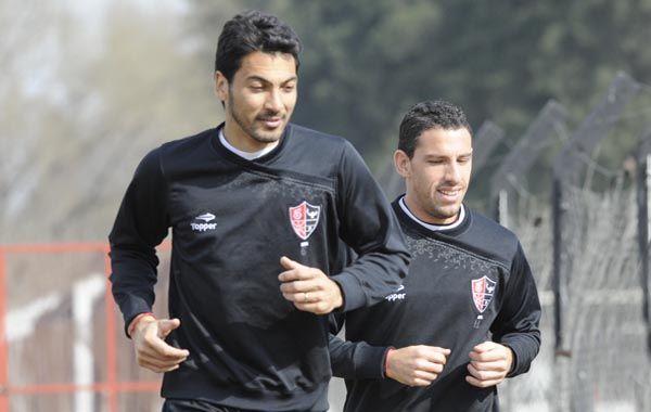 Víctor López respondió bien a la exigencia física esta mañana en Bella Vista.