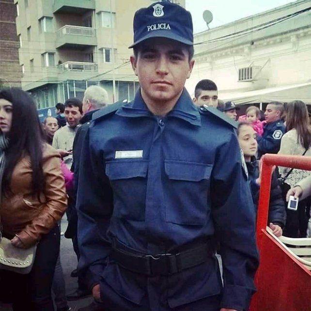 Matías Ezequiel Martínez, preso por el femicidio de Úrsula Behillo.