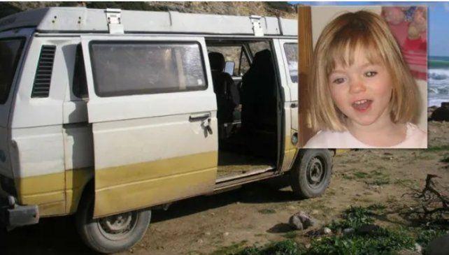 Madeleine McCann: hubo hallazgos de la policía en el motorhome del acusado