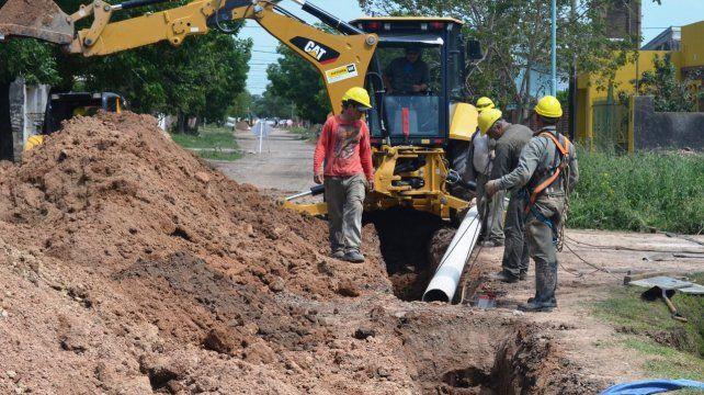 En obra. En la actualidad se ejecuta un plan de saneamiento para extender la cobertura.