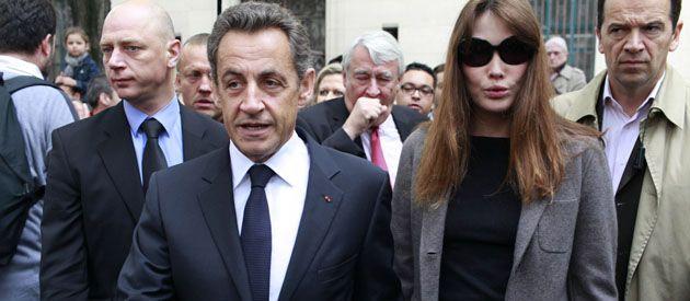 Sarkozy y Carla Bruni