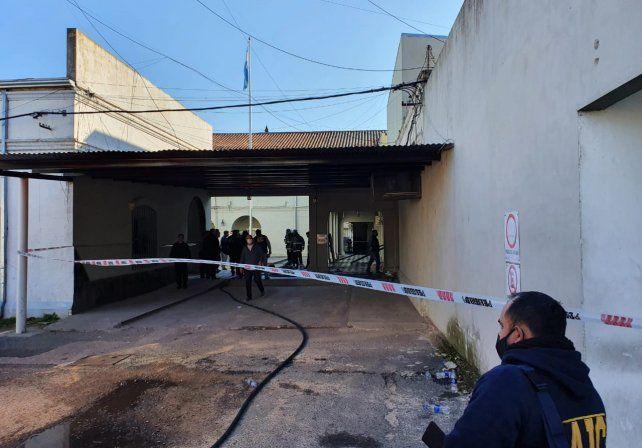 La explosión se produjo pasadas las 8.30 en un patio interno de la UR I