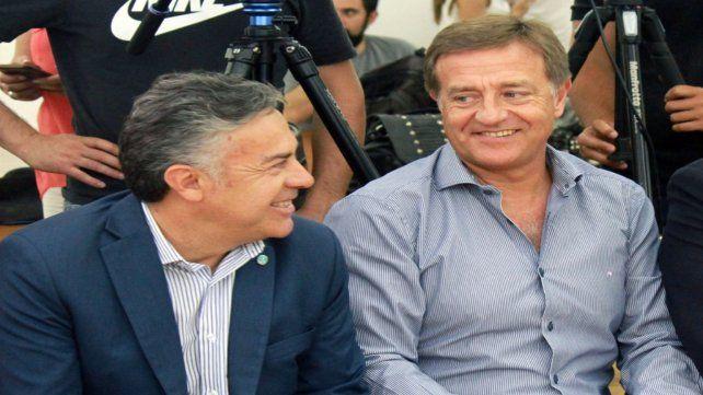 Cambia Mendoza. El gobernador Cornejo y su delfín