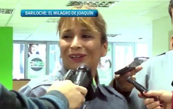 Nancy Verónica Melillán se convirtió en héroe.