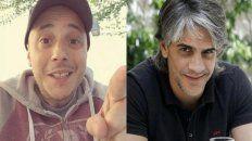 Otro round. El Dipy tuvo un accidente en una carrera en Paraná, Echarri se burló y el cantante le pegó duro en Twitter.