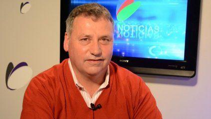 El presidente comunal de Chovet, Sergio Busquet.