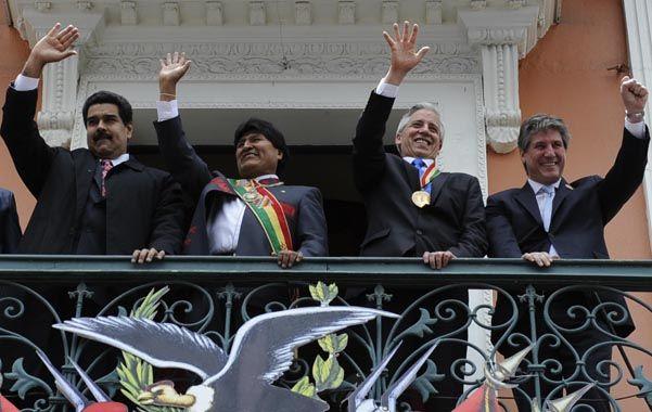 juntos. Nicolás Maduro