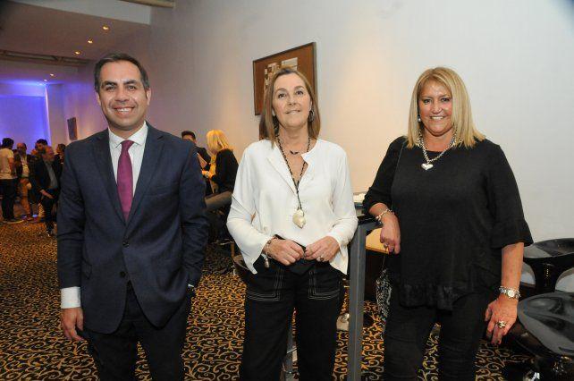 Baltazar Shubert, Estela Lagorio y Gabriela Cabanellas
