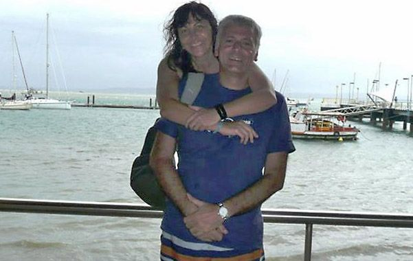 Turistas. Amigos del matrimonio dicen que son amantes del turismo aventura y viajan por todos lados.
