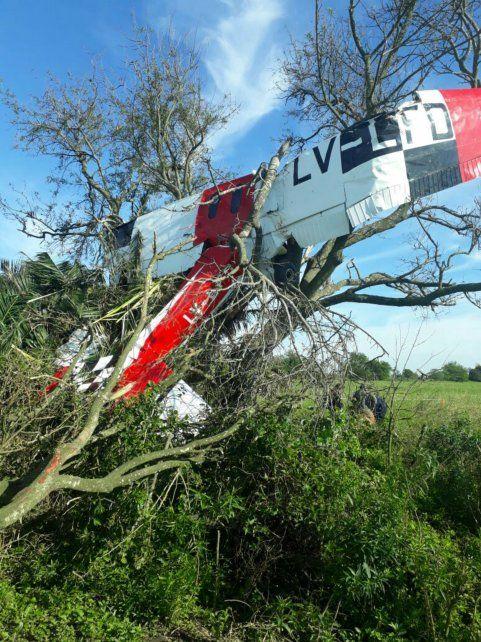 Incrustado. El piloto del Cesna fue identificado como Carlos Valinotti.
