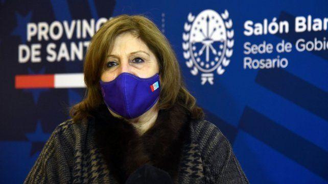 La ministra de Educación, Adriana Cantero: