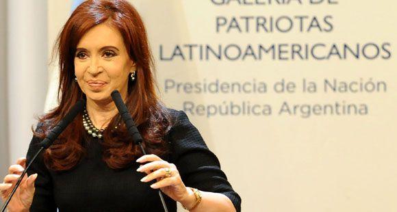 La presidenta Cristina Fernández confirmó que irá por la reelección en octubre